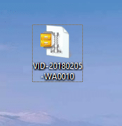File will convert into compressed file using 7-Zip compression software