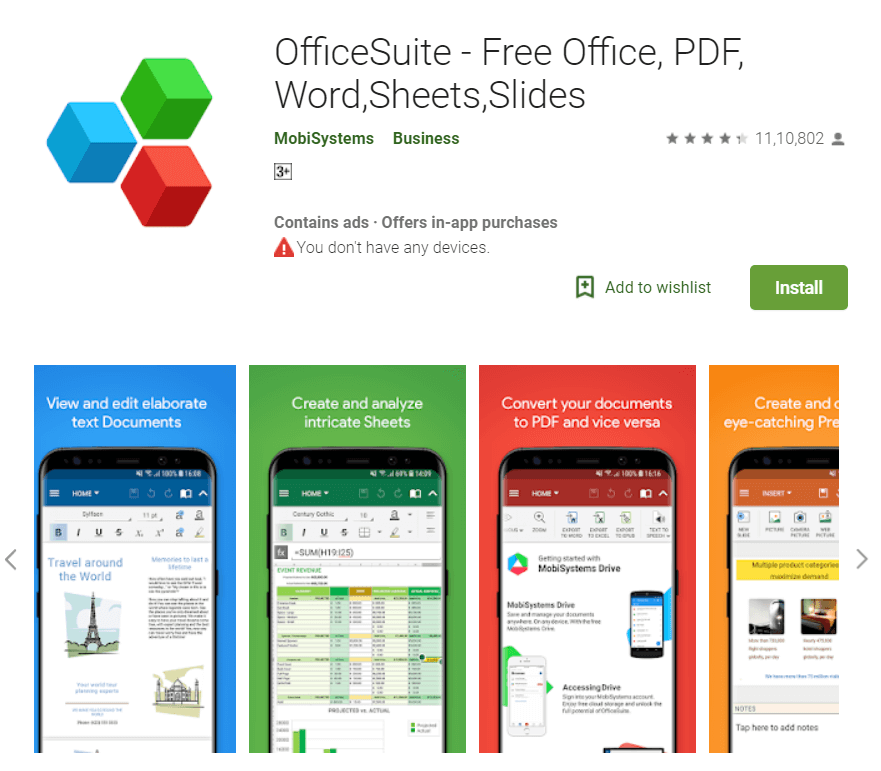 4 Best Apps to Edit PDF on Android