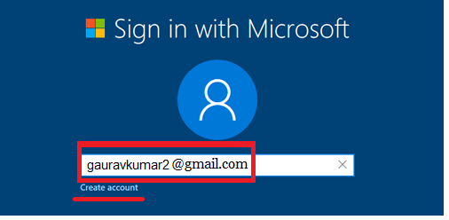 Microsoft will ask you to sign in with your Microsoft account