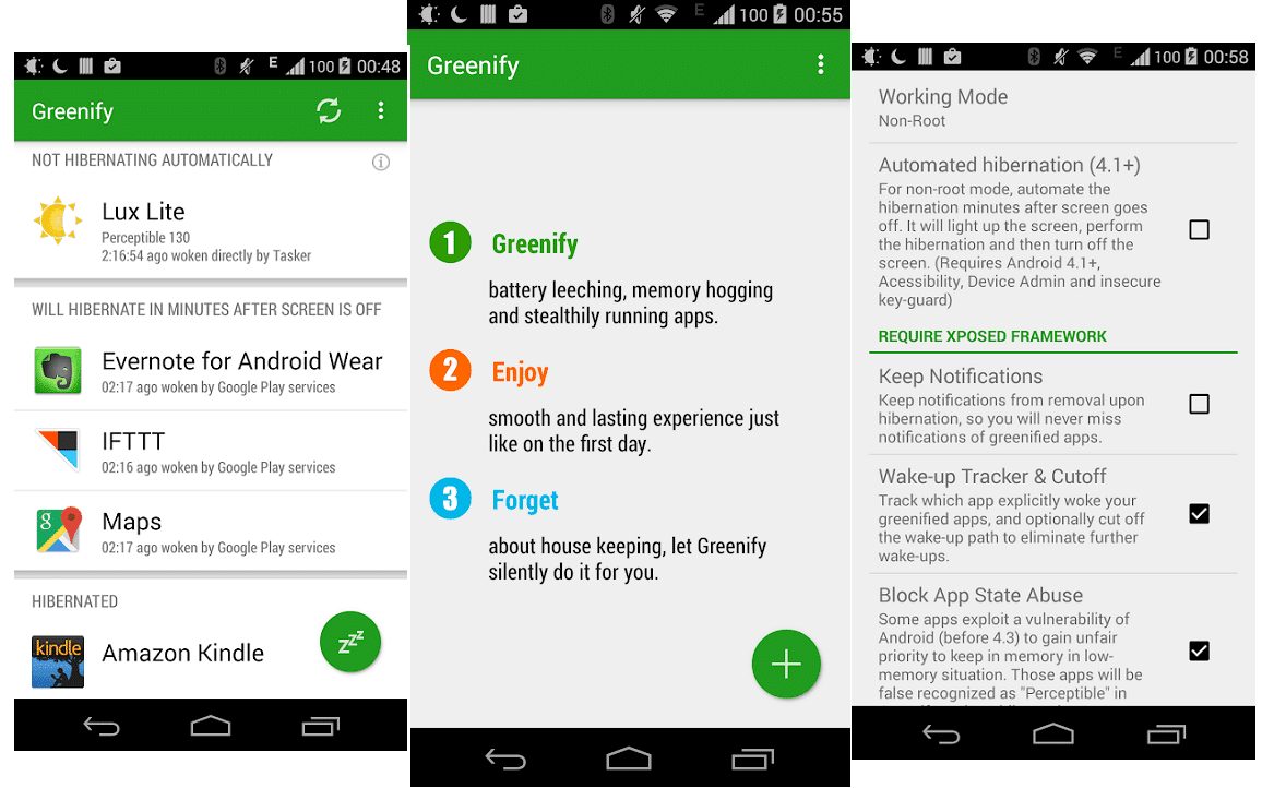 Greenify - Best Battery Saver Apps for Android
