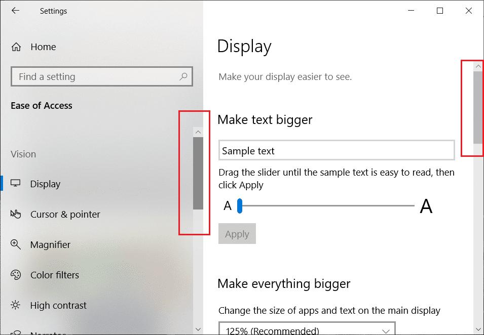 Cách Hiển Thị Thanh Cuộn Trong Ứng Dụng Trong Windows 10 - AN PHÁT