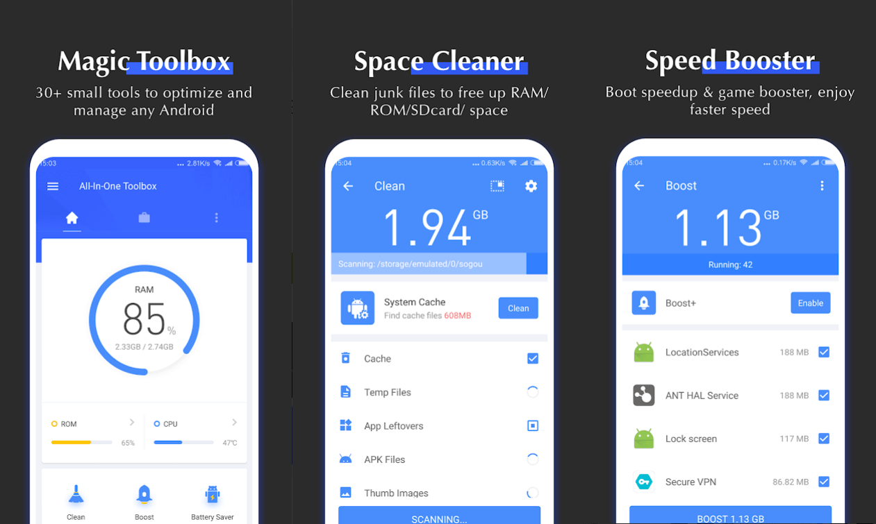 10 Best Free Cleaner Apps For Android in 2020