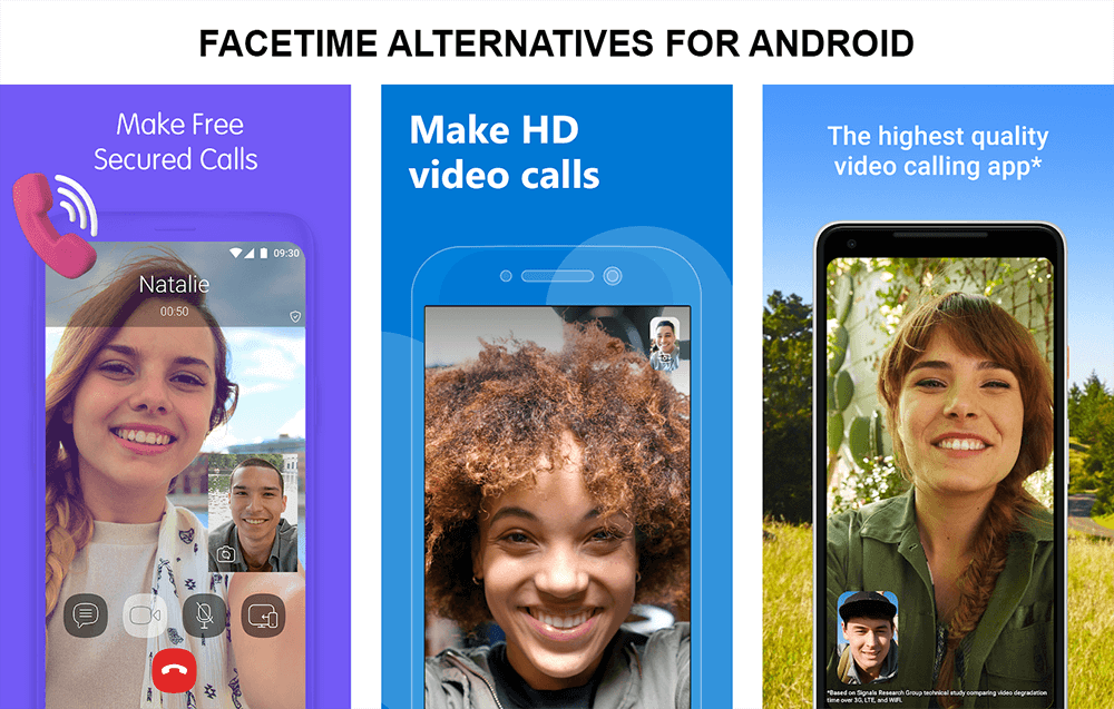 8 Best Alternatives to FaceTime on Android