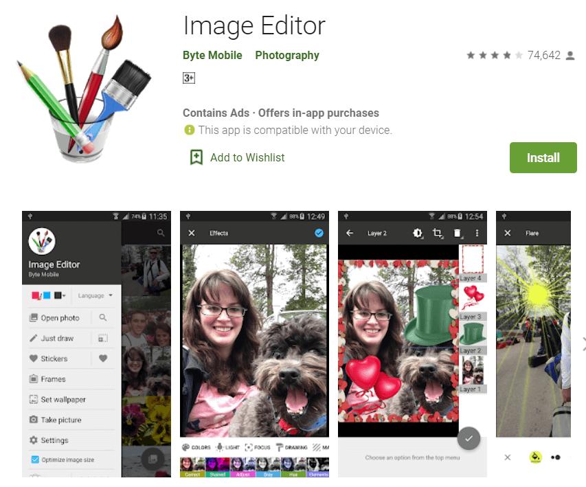 Byte Mobile – Image Editor