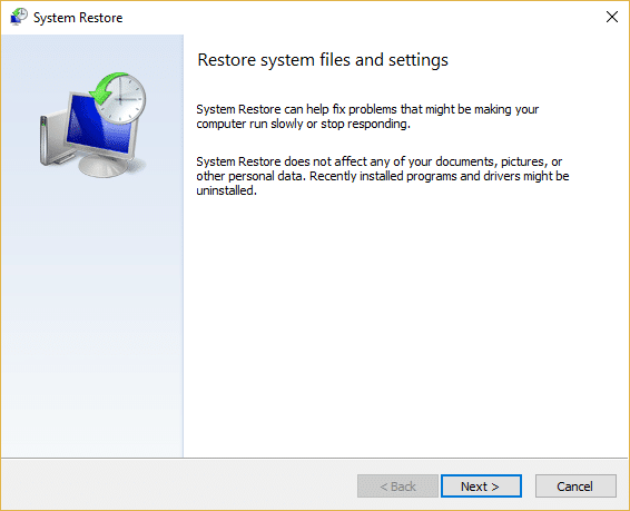 How to use System Restore on Windows 10