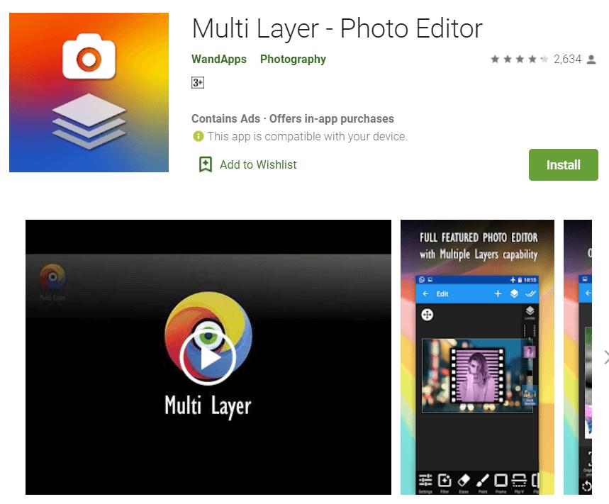 Multi-Layer – Photo Editor