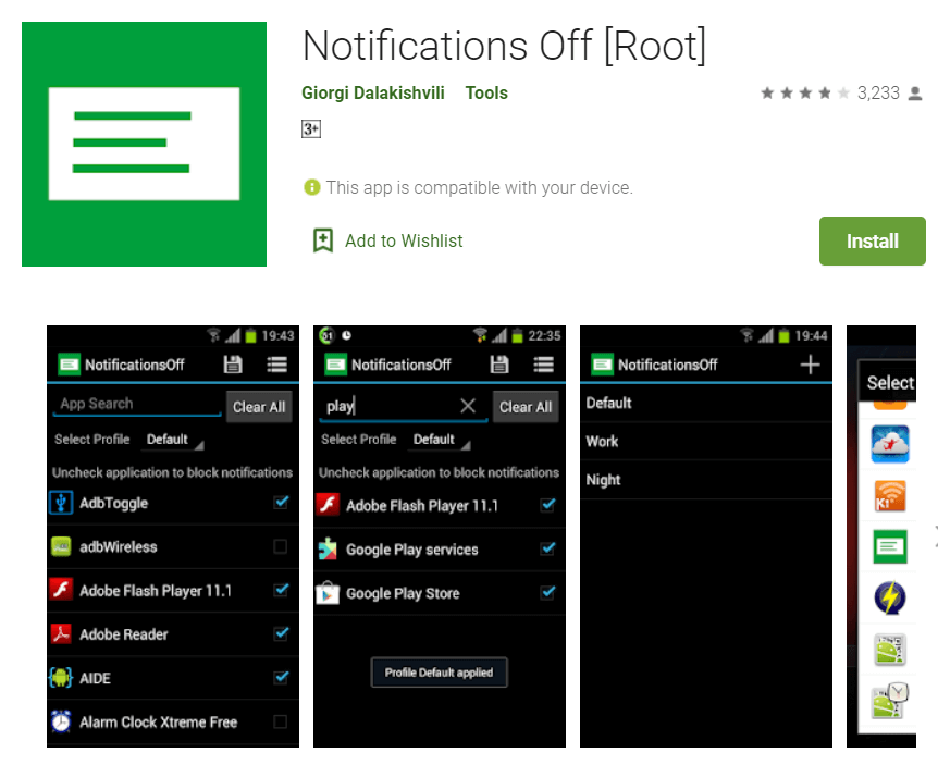 Notifications Off (Root)
