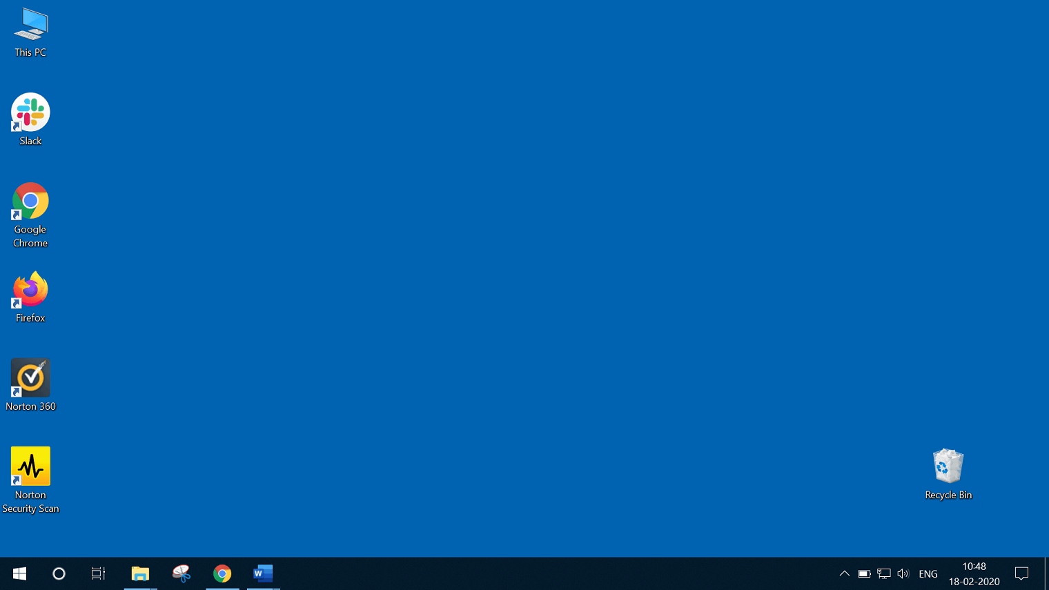 Hold the left mouse button and drag the taskbar to its new position wherever you want, like left, right, top, or bottom of the screen. Now, release the mouse button, and the taskbar will come to its new or default position on the screen(whatever you choose).