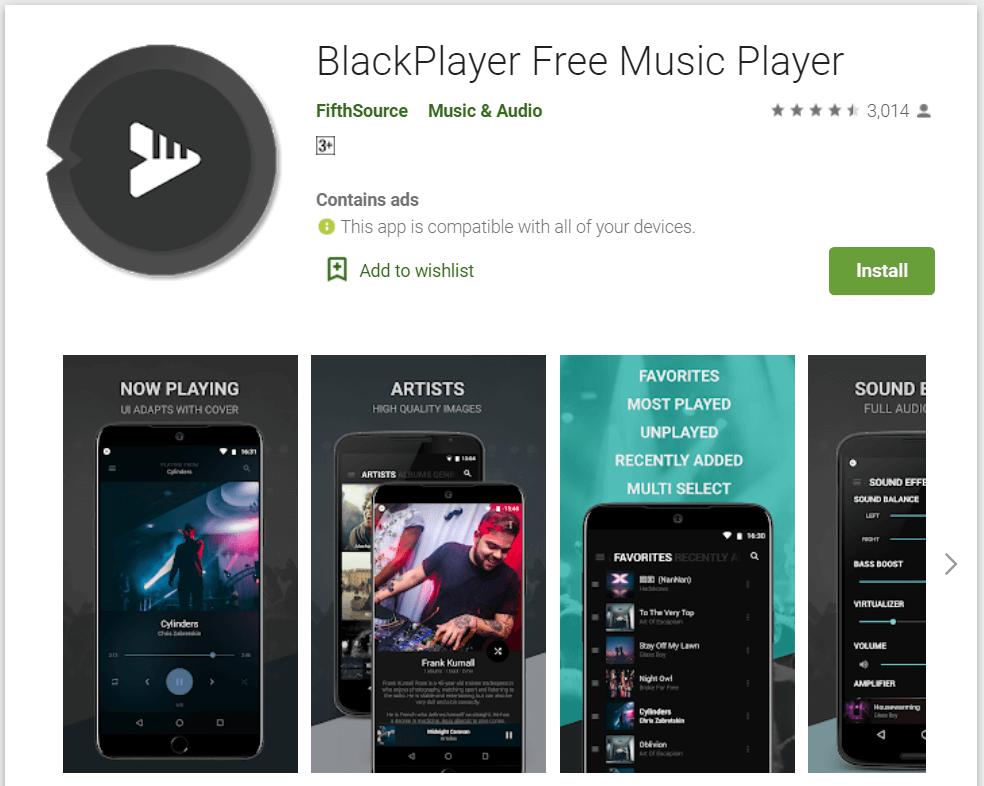 blackplayer