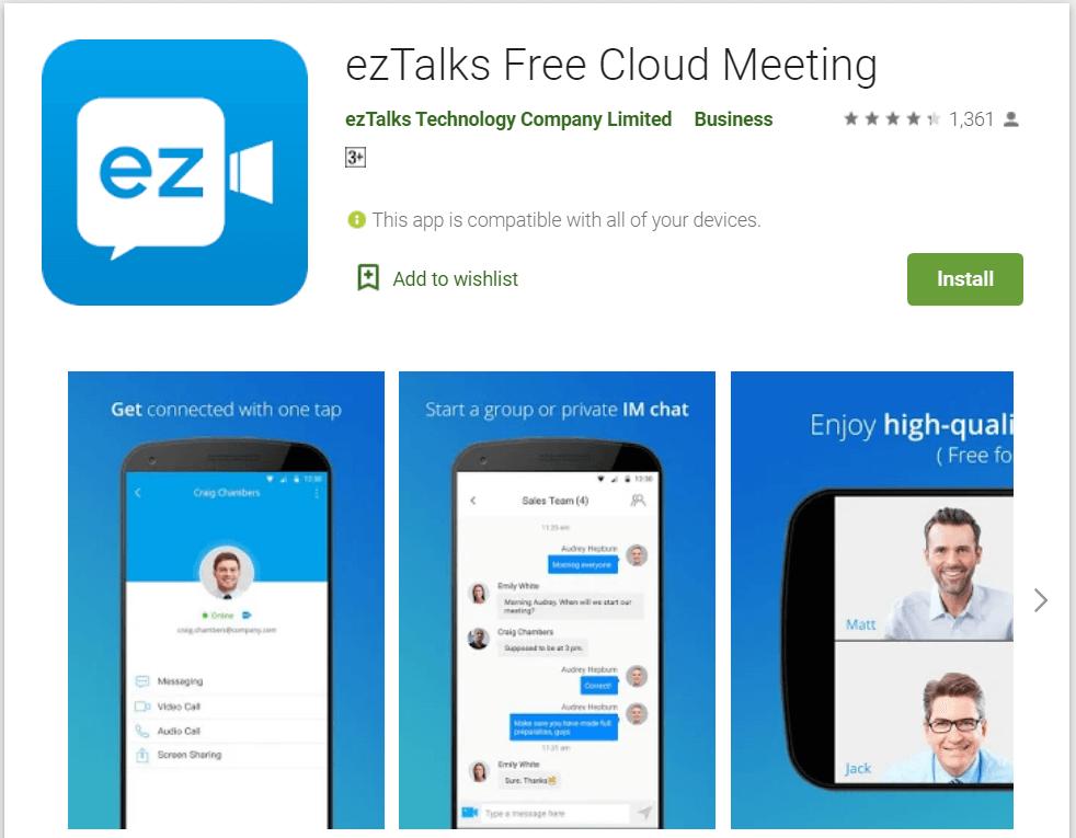 eztalks meeting