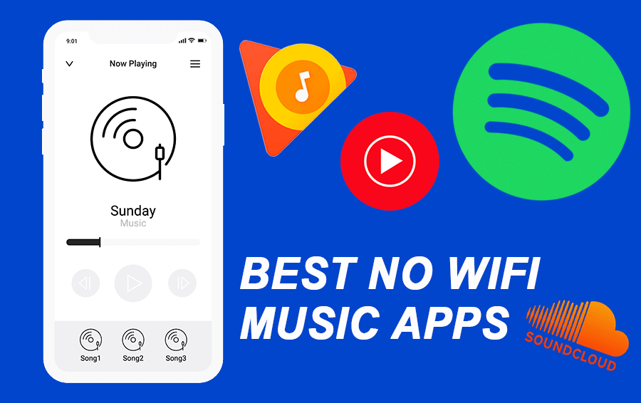 10 Best Free Music Apps to listen to music without WiFi