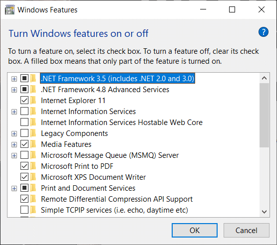 How to Install Microsoft .NET Framework 3.5