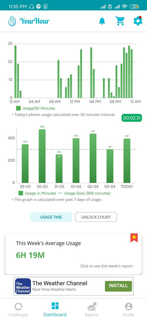 This app will help you track and control your phone usage