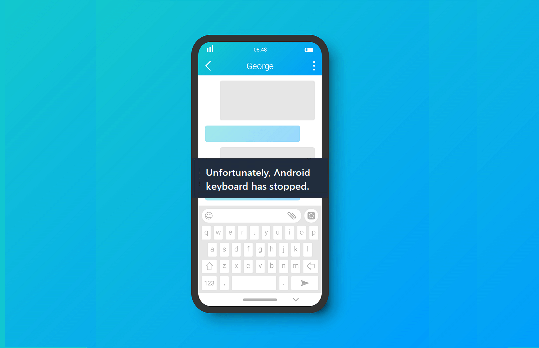 Fix Unfortunately Android keyboard has stopped Error