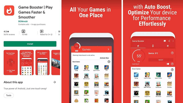 Install Game Booster Apps and Remove Task Killers
