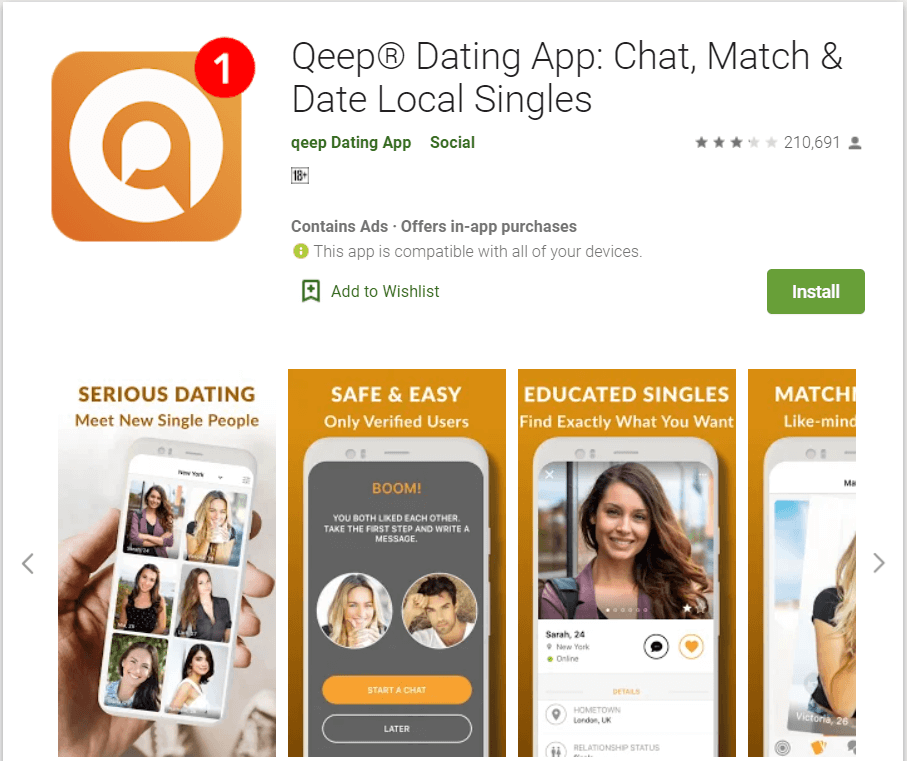 Site qeep chat Qeep® Dating: