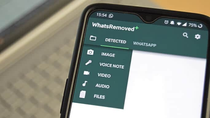 WhatsRemoved+ is a very simple and user friendly app