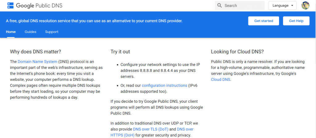google-public-dns-