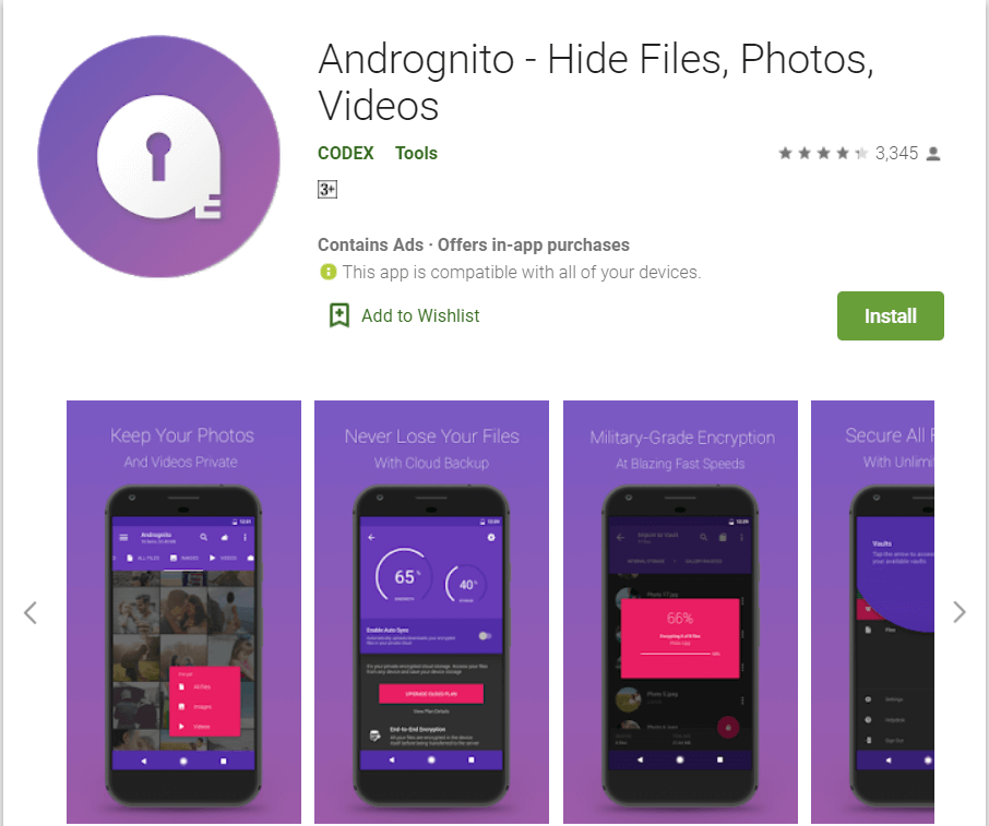 Andrognito | Top 10 Hiding Apps for Android