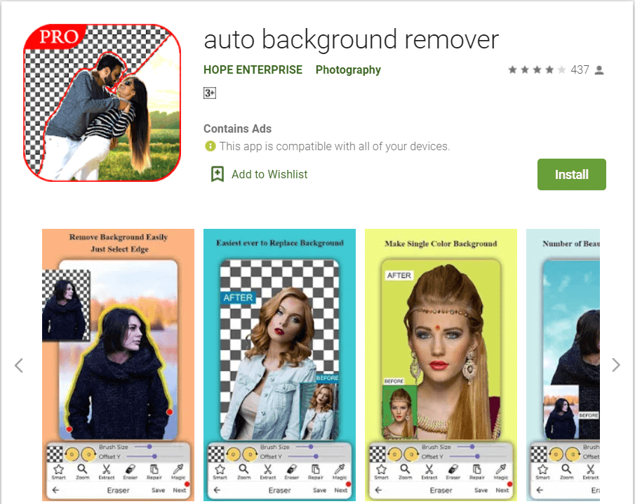 Auto background Remover