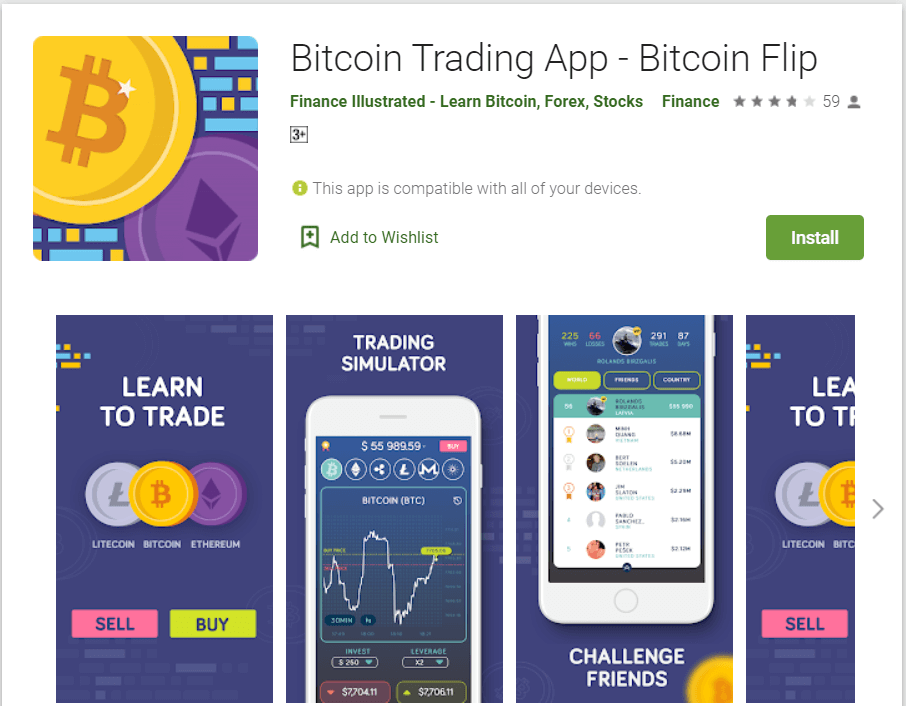 Bitcoin Flip - Bitcoin Trading