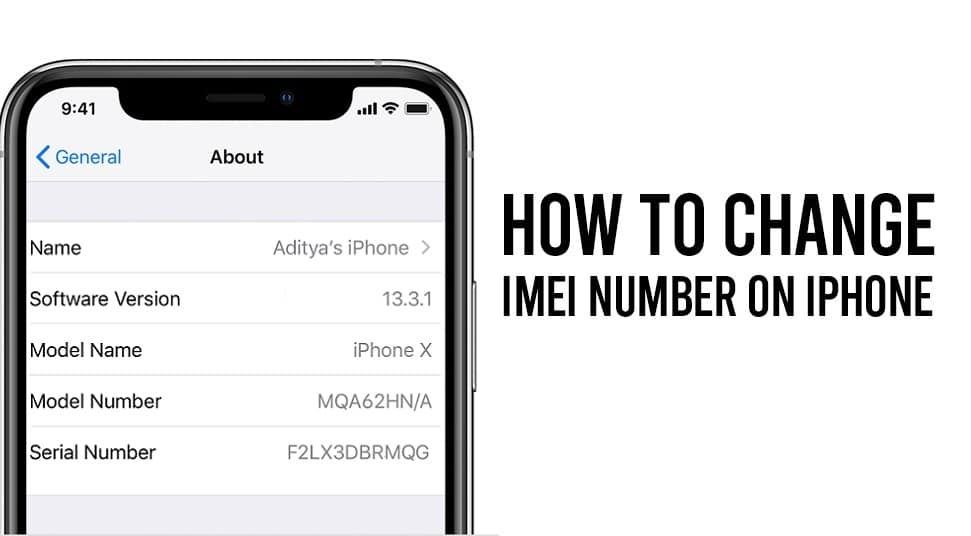 Change IMEI Number On iPhone