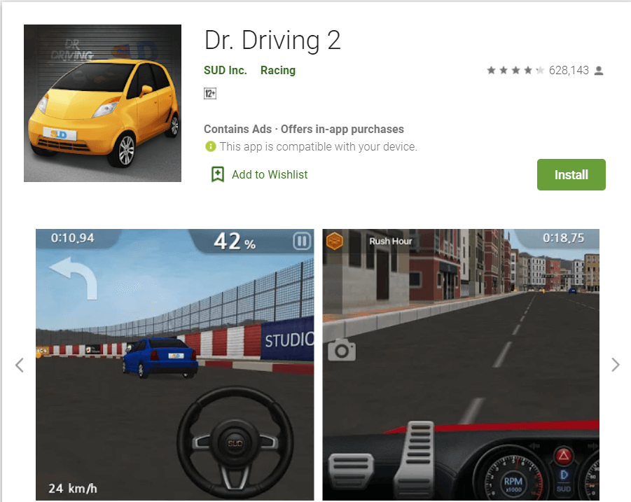 Dr. Driving 2 | Car Learning Apps for Android