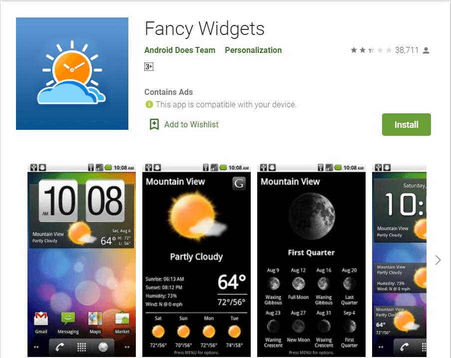 Fancy Widgets | Best Android Widgets