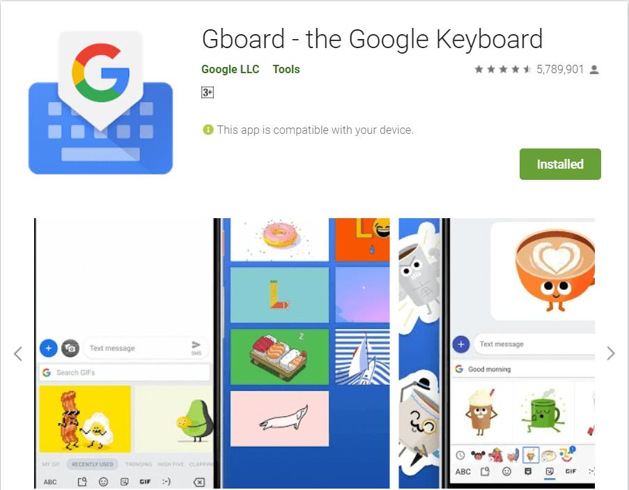 Gboard | Best Speech To Text Applications