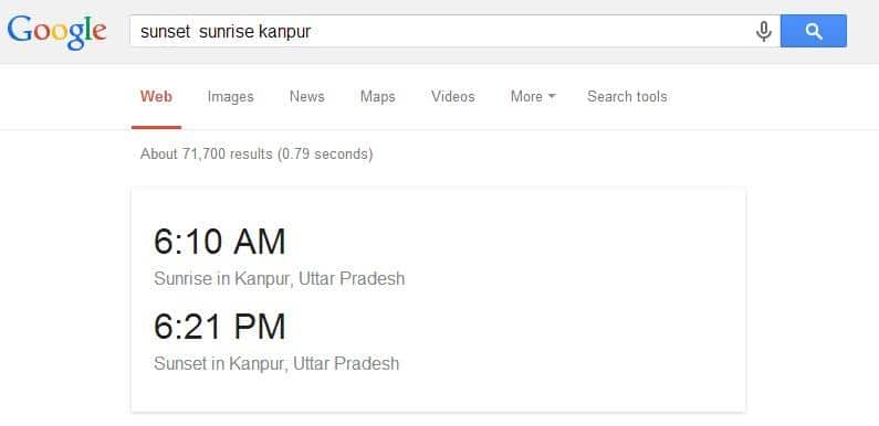 Google will provide you with the exact Sunrise and Sunset times for any town
