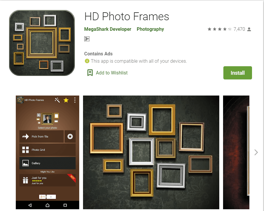 HD Photo Frames