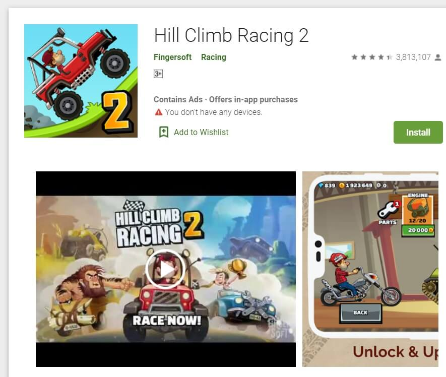 HILL CLIMB RACING 2 | Best Offline Games For Android