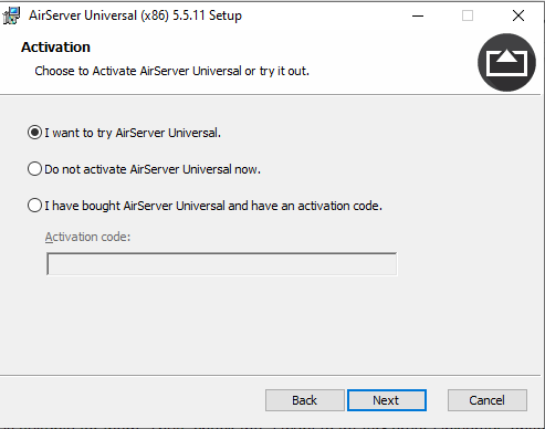 I want to try AirServer Universal