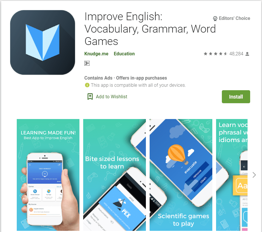 Improve English | Top Grammar Apps for Android in 2020