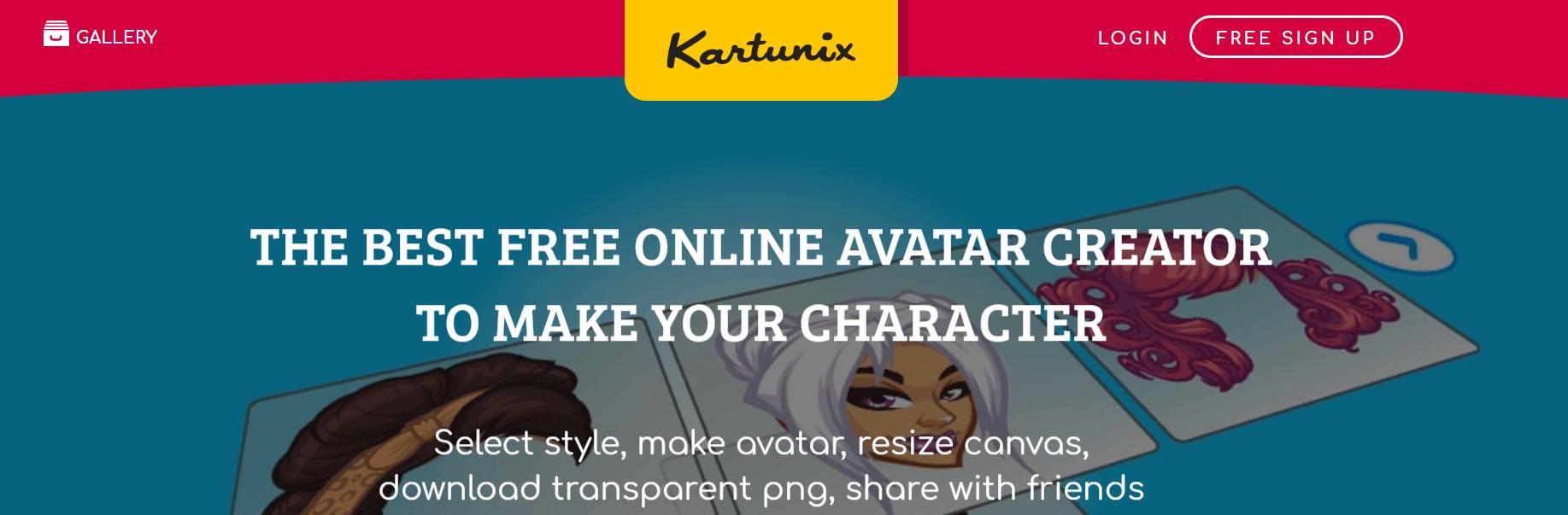 Kartunix   Create Cartoon Avatars Online