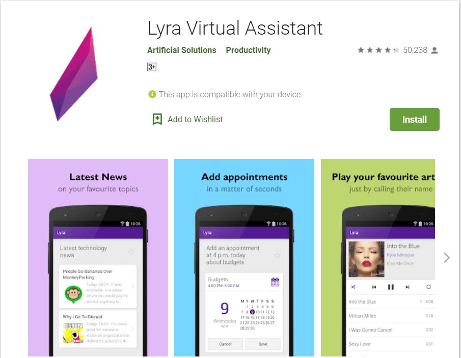 Lyra Virtual Assistant
