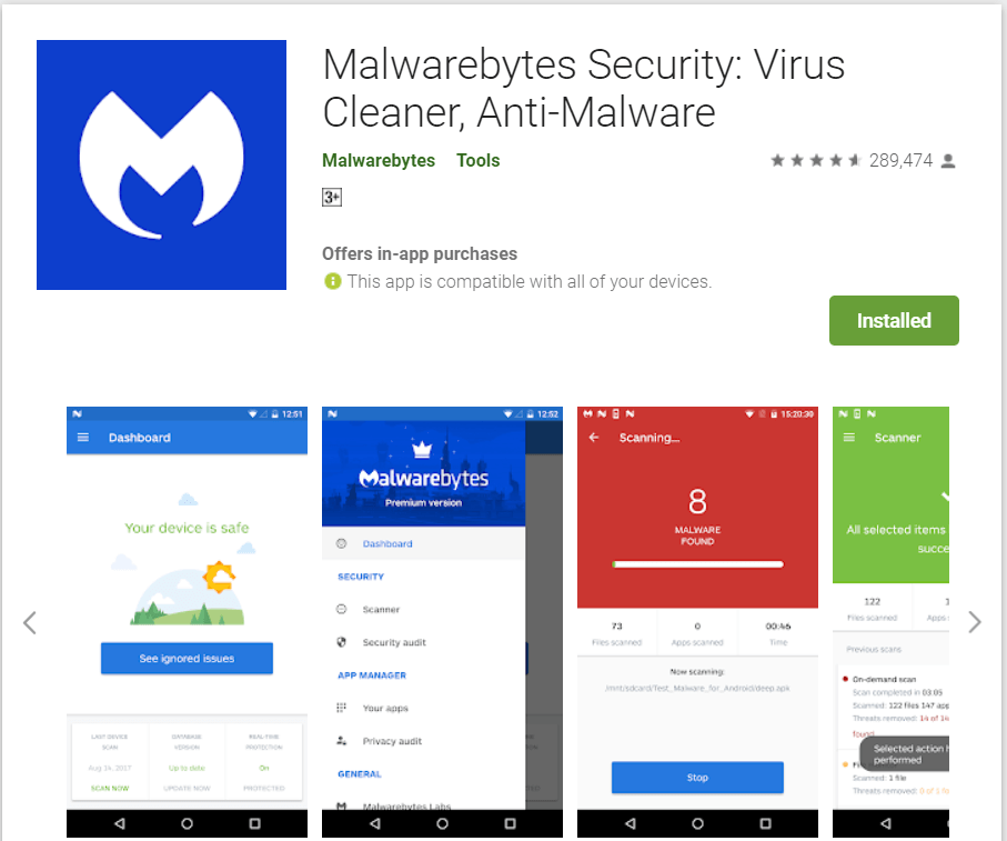 MalwareBytes | Best Adware Removal Apps