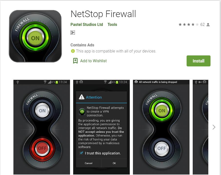 Net Stop Firewall