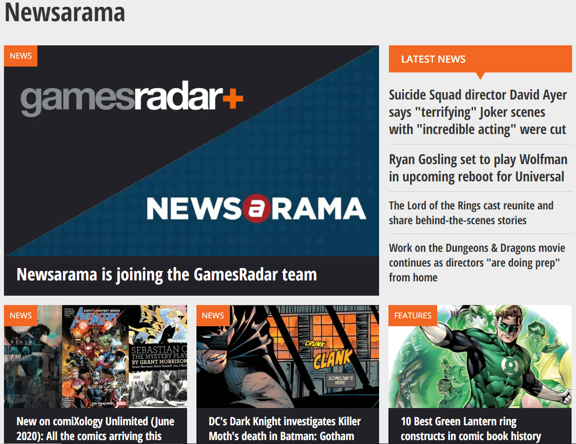 Newsarama | Best Websites To Read Comics Online For Free