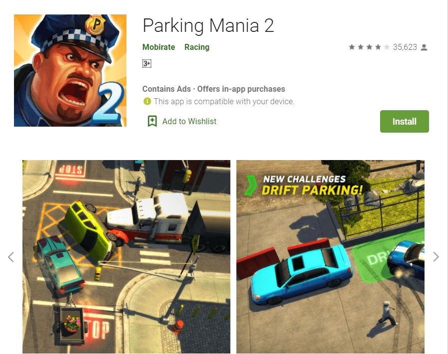 Parking Mania 2 | Car Learning Apps for Android