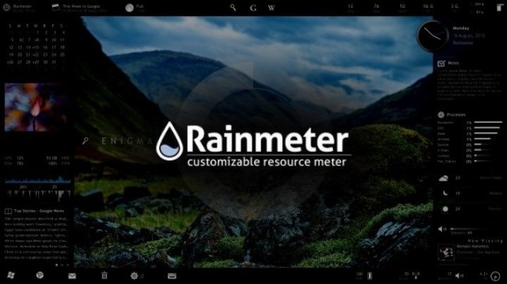 Rainmeter | Must Have Software Programs for Windows