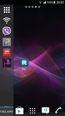 Ray Sidebar Launcher