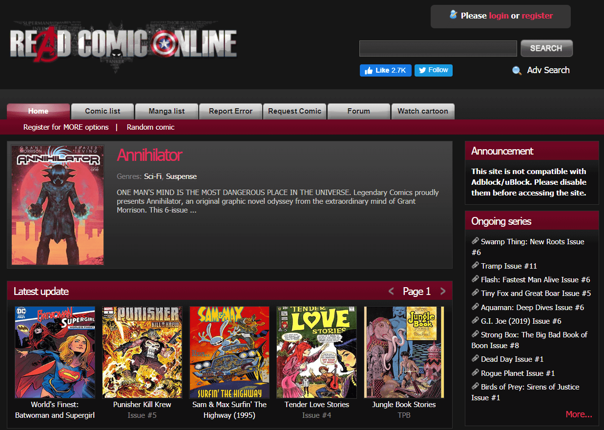 Read Comic Online | Best Websites To Read Comics Online For Free