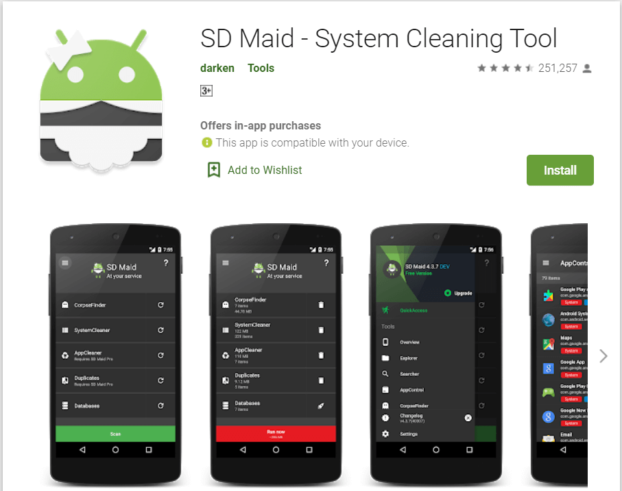 SD Maid | Remove Leftover Files After Uninstalling Apps
