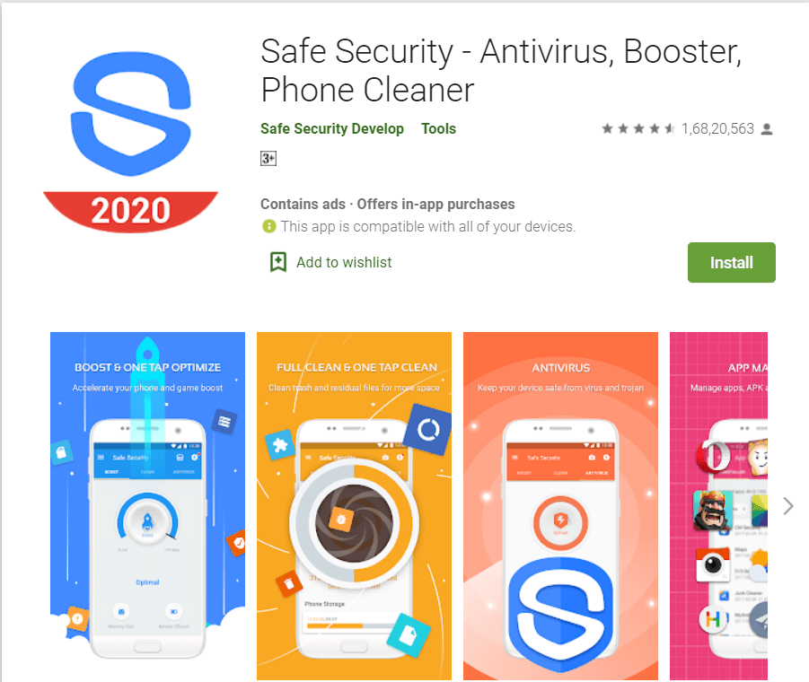 Safe Security | Best Adware Removal Apps
