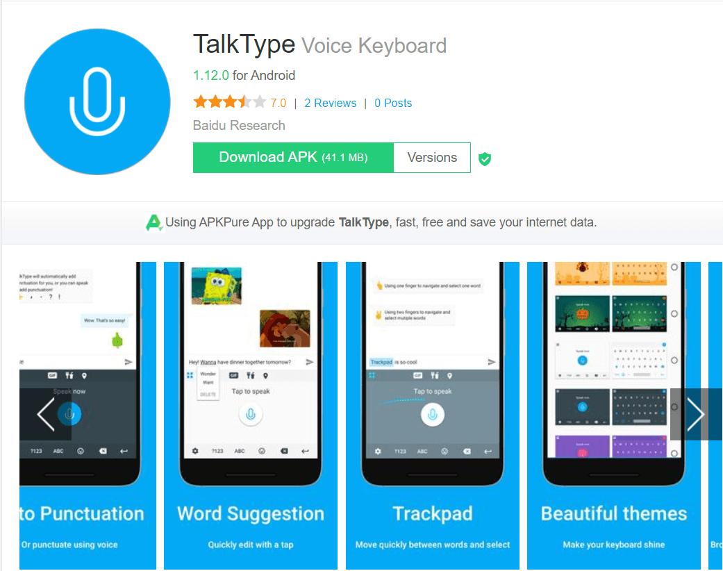 TalkType