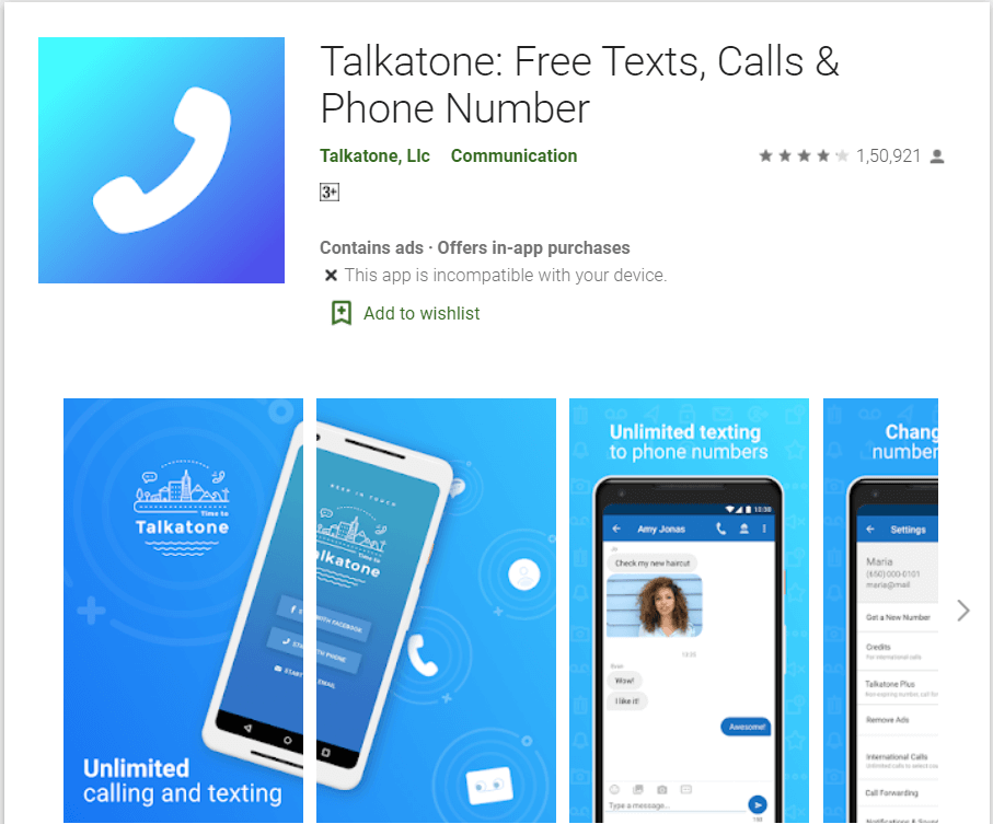 Talkatone APK