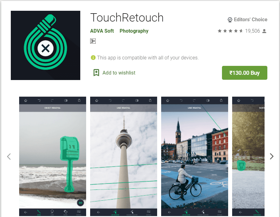 Touch Retouch | Best Apps to Remove Background From Any Image In Android