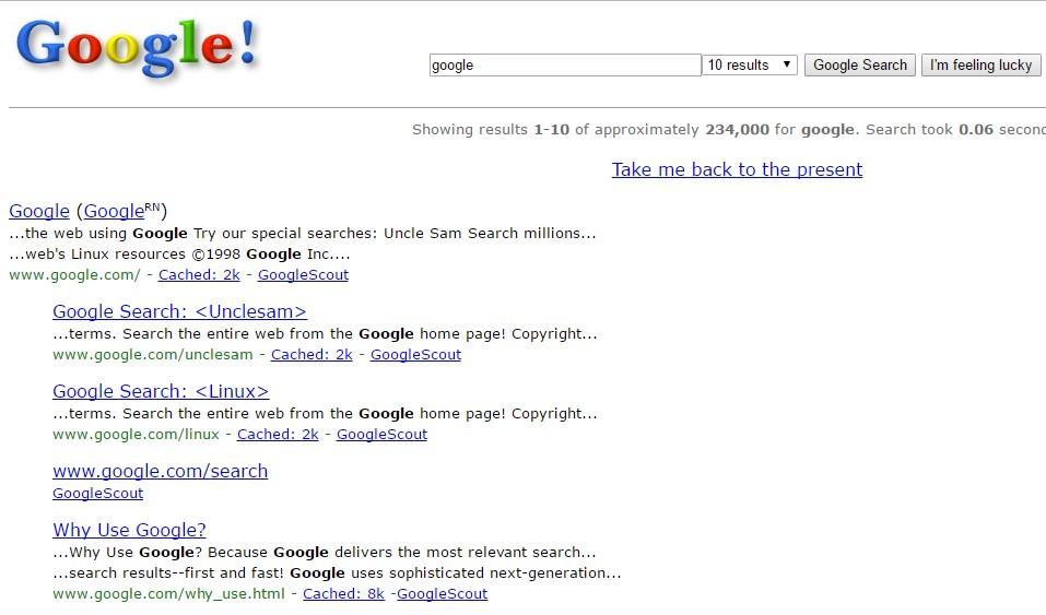 Type Google in 1998 on Google and look at what happens next! | Best Google Tricks and Tips