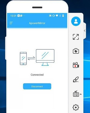 Using ApowerMirror App | How to Record Android Screen on PC